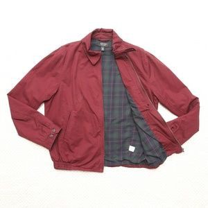 Nordstrom Mens Shop Full Zipper Jacket 100% Cotton